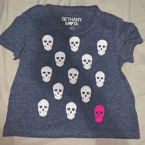 Skulls Crop Top